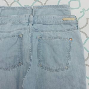 "💙👖CUTE! PILCRO STRAIGHT LEG👖💙27 3/4 31"" LIGHT"